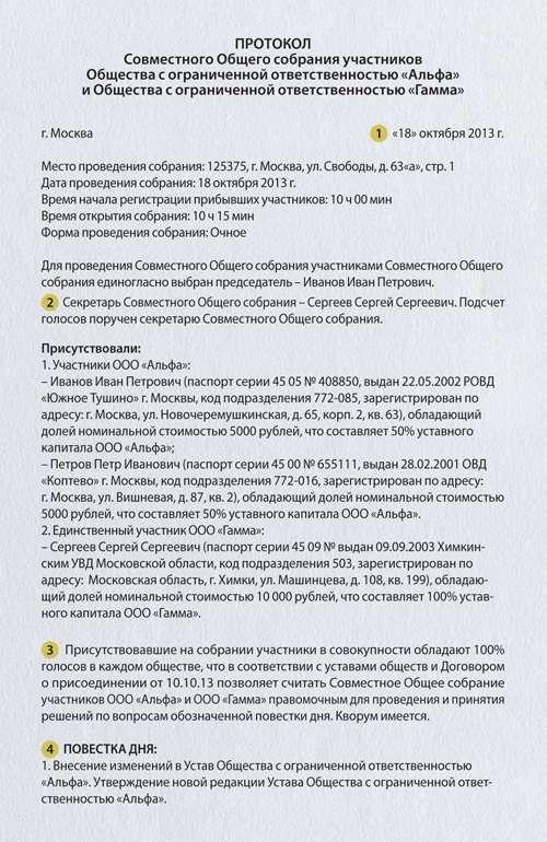 Лист регистрации участников общего собрания участников ооо получение эцп для регистрации ип
